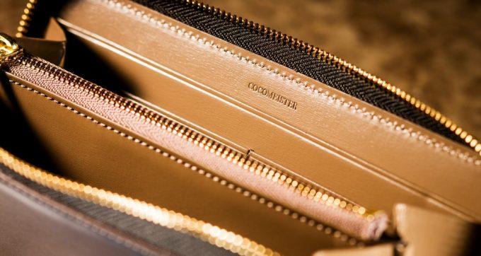 クリスペルカーフを使ったココマイスターの長財布