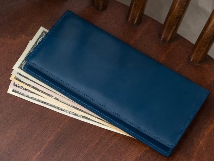 CIMABUE(チマブエ)製の上質ブライドル長財布