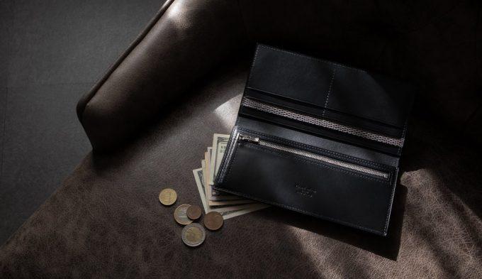 おすすめのClevaleathco(クレバレスコ)ブリランテ×リザード長財布
