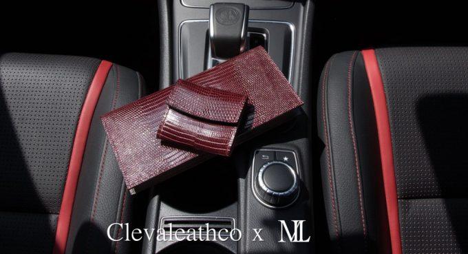 クレバレスコとメンズレザーストアのコラボ財布