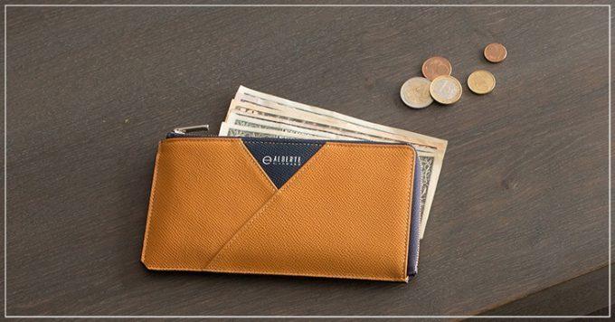 ALBERTE(アルベルテ)の超薄型財布