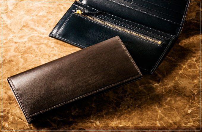 COCOMEISTER(ココマイスター)クリスペルカーフシリーズの革財布