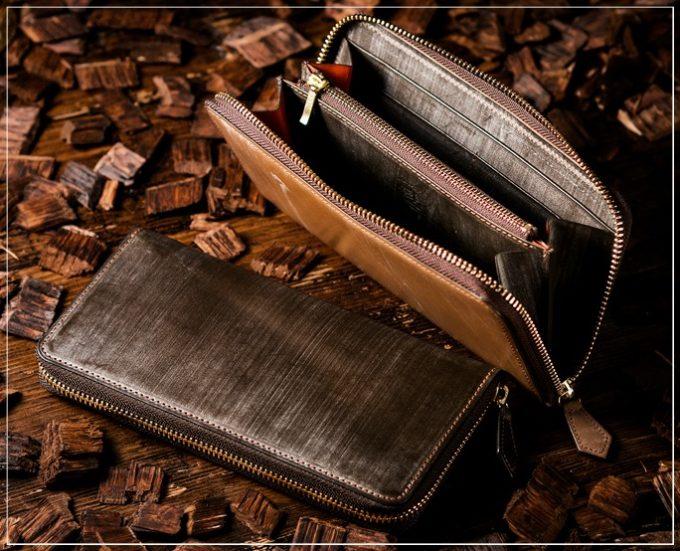 COCOMEISTER(ココマイスター)オークバークシリーズの財布