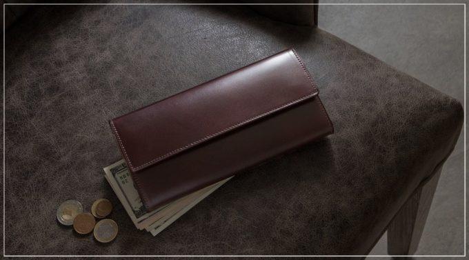 CIMABUEgraceful(チマブエグレースフル)アニリン染めコードバンシリーズの財布