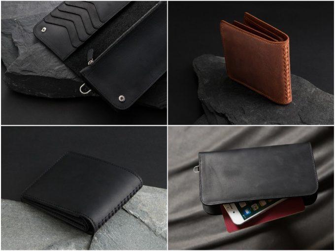 クレイジーヌバックの財布の写真一覧