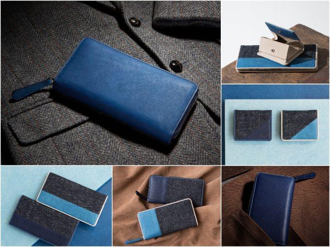 ブルーストーンの財布の写真
