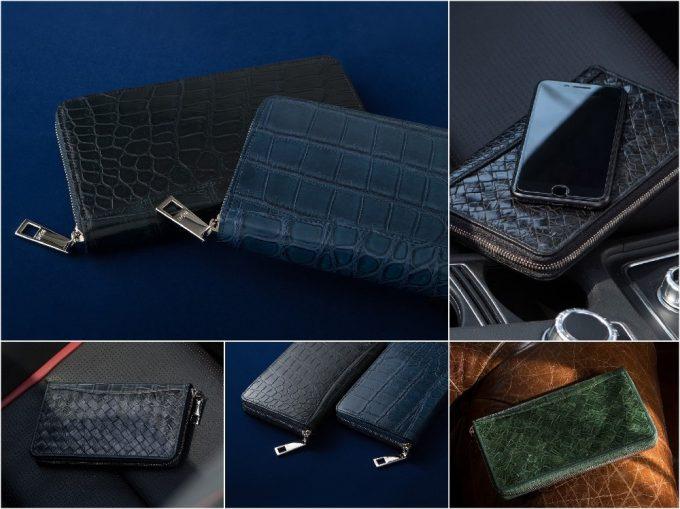 LE'SAC(レザック)ポロサスラウンドジップ長財布の写真一覧