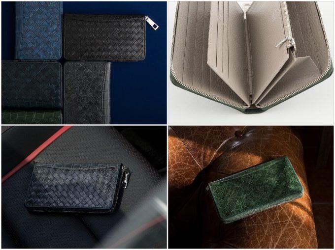 ポロサスラウンドジップ長財布の写真一覧