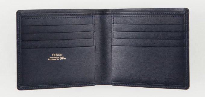両側カードポケットの内装