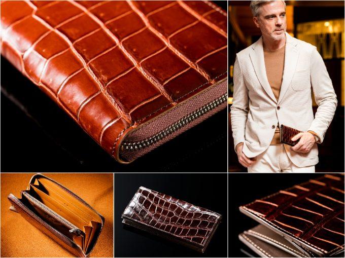 COCOMEISTER(ココマイスター)クロコダイルシリーズの各財布