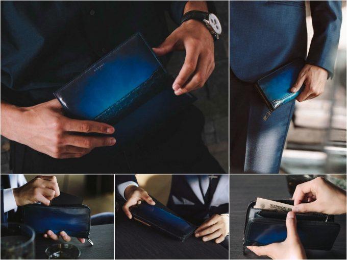 YUHAKUコブウェブシリーズの各財布