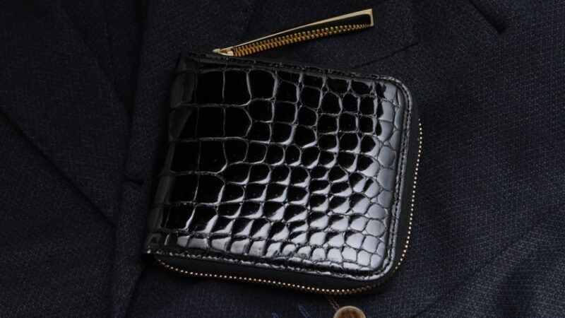 偽物なし!本物のクロコダイル革財布ブランド品!