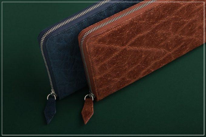 象革「オイルエレファント」シリーズの財布