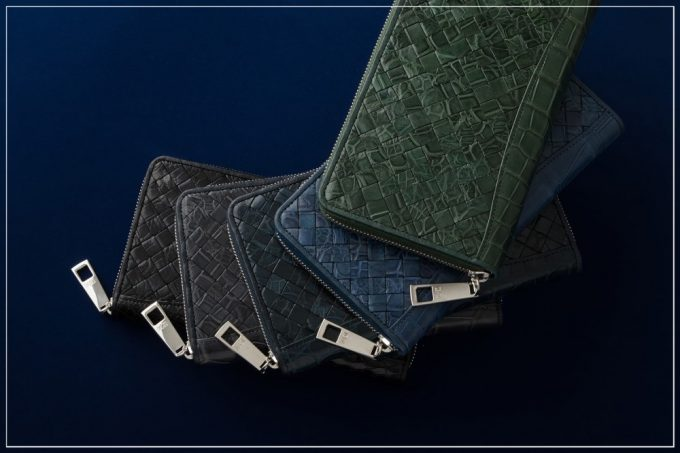 クロコダイル革シリーズの財布