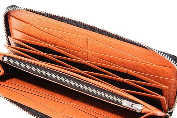 グリッターゴートを使ったCYPRISの財布