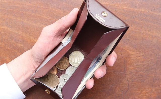 使い勝手抜群の二つ折り財布ハンモックウォレット