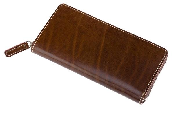 キプリスのルーガショルダーシリーズの革財布