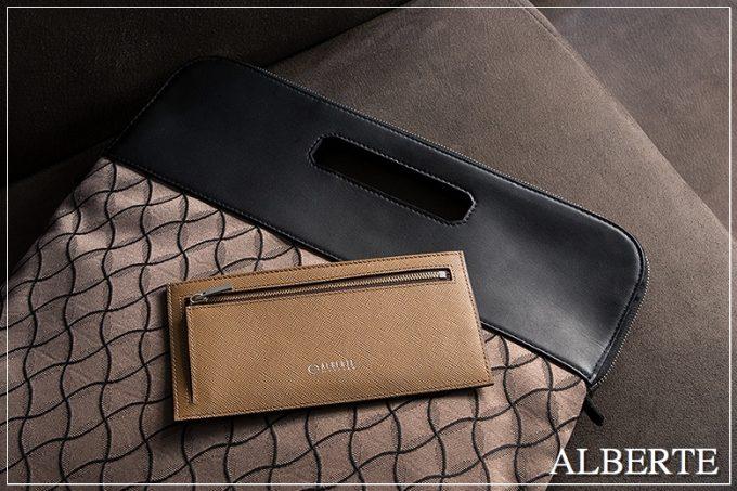 ALBERTE(アルベルテ)の財布(キャメル)