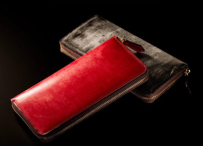 COCOMEISTER(ココマイスター)ロンドンブライドルシリーズの財布(アルバートレッド)