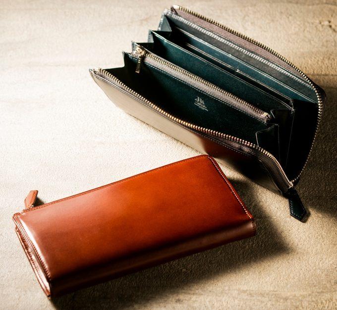 王道のココマイスターの財布プルキャラックギャリオット