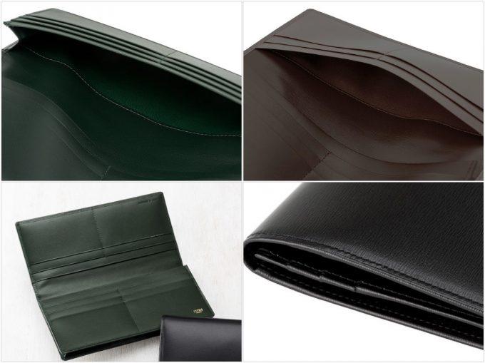 長財布(通しマチ)ボックスカーフポトフィールの写真