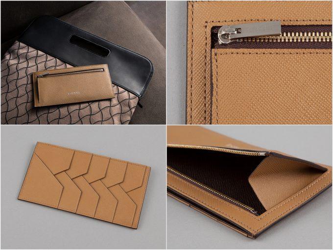 ALBERTEの財布の写真(抜粋)