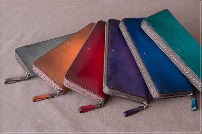 Foschia(フォスキーア)シリーズの財布
