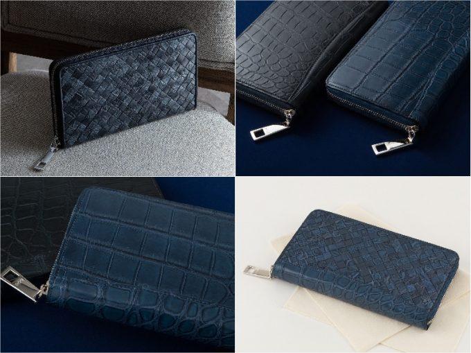 LE'SAC(レザック)・ポロサスラウンドジップ長財布の各種類
