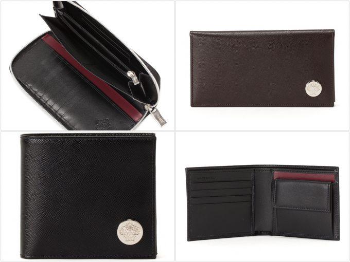サフィアーノレザーの財布の写真