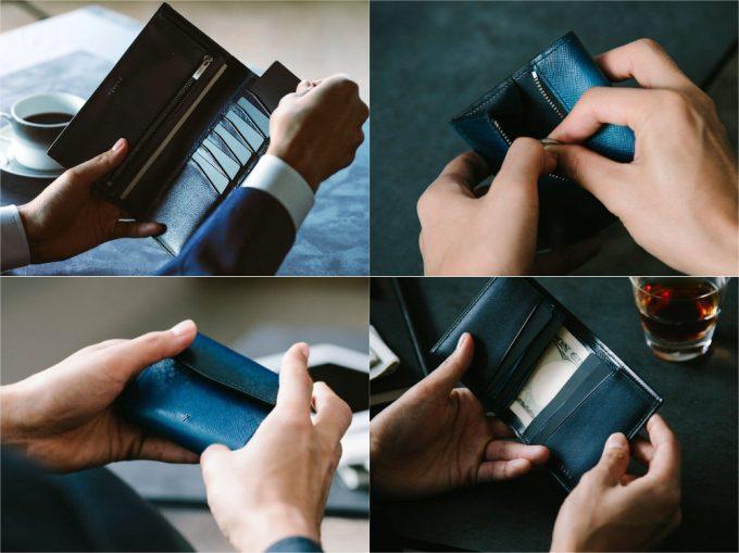 Evo(エヴォ)シリーズの財布(抜粋)