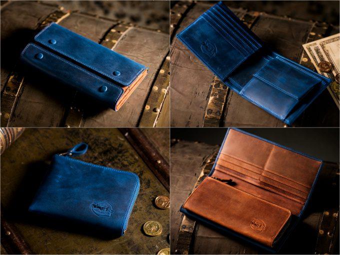 ナポレオンカーフの財布(ワイルドドリーム、ドリームフォース)の写真