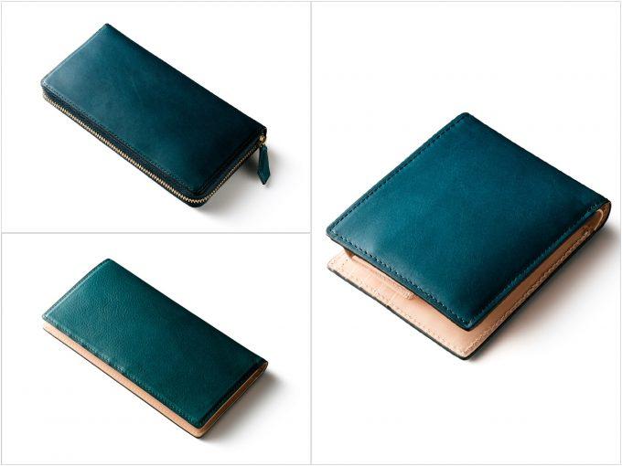 ココマイスターマットーネの財布(ブルーハワイ)の写真