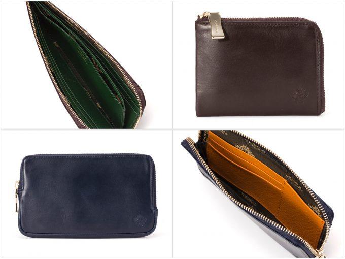 ストレッチレザーシリーズの財布の写真