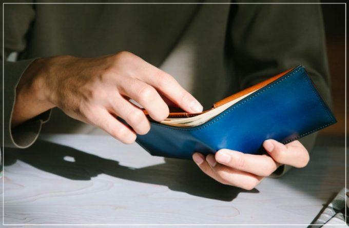 Proof Foschia(プルーフフォスキーア)シリーズの財布