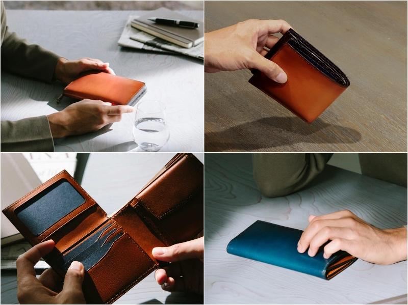 Proof Foschia(プルーフフォスキーア)シリーズの財布各種