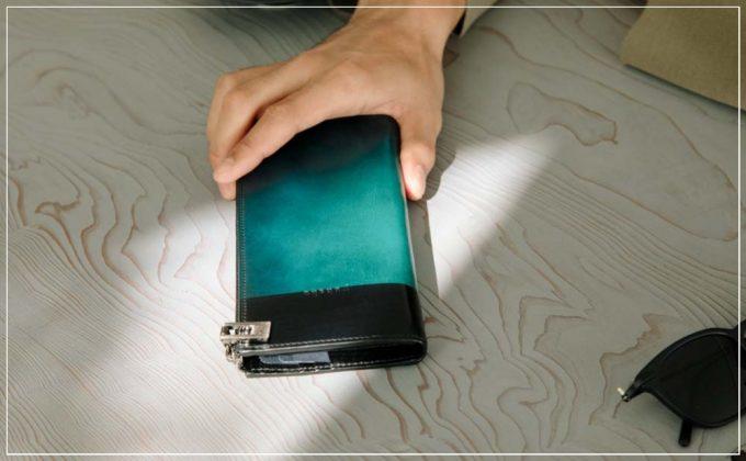 Luce e Ombra(ルチェエオンブラ)シリーズの財布