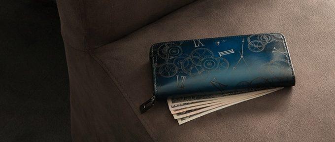 お洒落で格好良い和モダンの財布