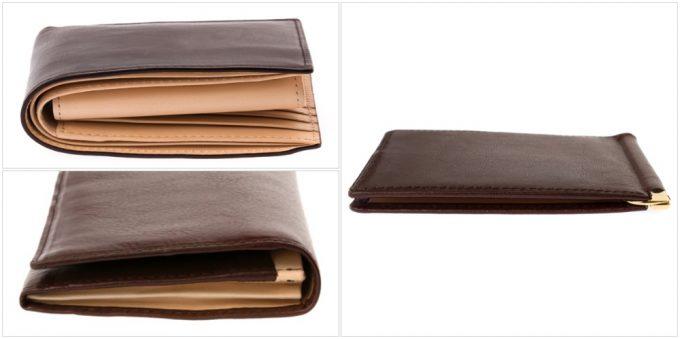 長財布・二つ折り財布との厚さの比較