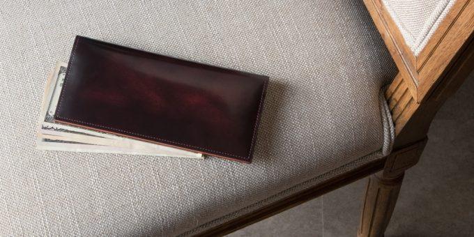 メンズレザーストア販売のフェソンアドバンレザー長財布