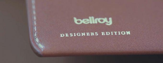 ベルロイとデザイナーズエディションの文字ロゴ