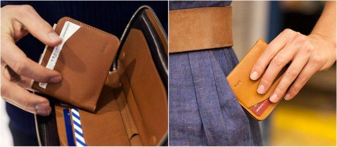 長財布に入れられる二つ折り財布