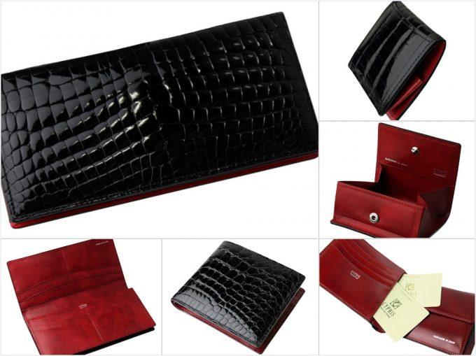 艶クロコダイル&シラサギレザー(Crocodile&Cirasagi Leather)