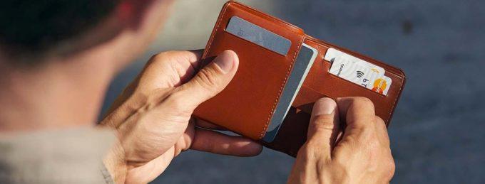 ベルロイの二つ折り財布
