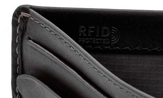 スキミング防止のRFID(エフアールアイディー)プロテクションモデルのマーク