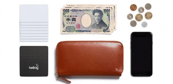 フォリオウォレットデザイナーズエディションに収納できるカードやお札など
