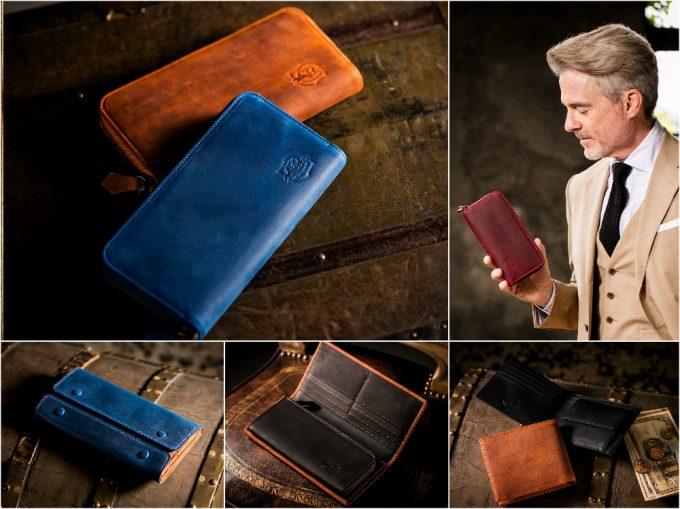 ナポレオンカーフシリーズの財布