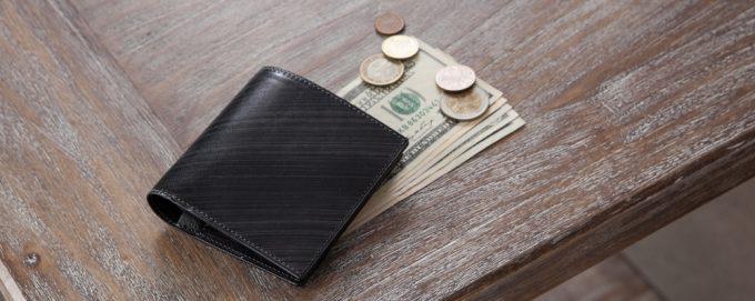 刷毛染め模様の美しいATSUSHI YAMAMOTOの財布