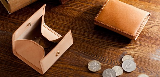 シンプルで高級感のあるパティーナボックス小銭入れ