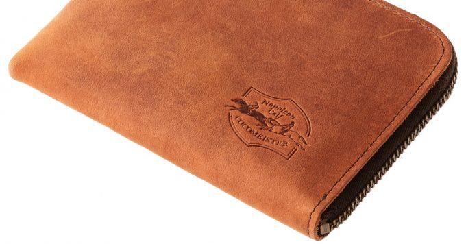 使い勝手に優れるナポレオンカーフシリーズの財布