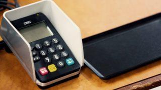 クレジットカード決済シーン